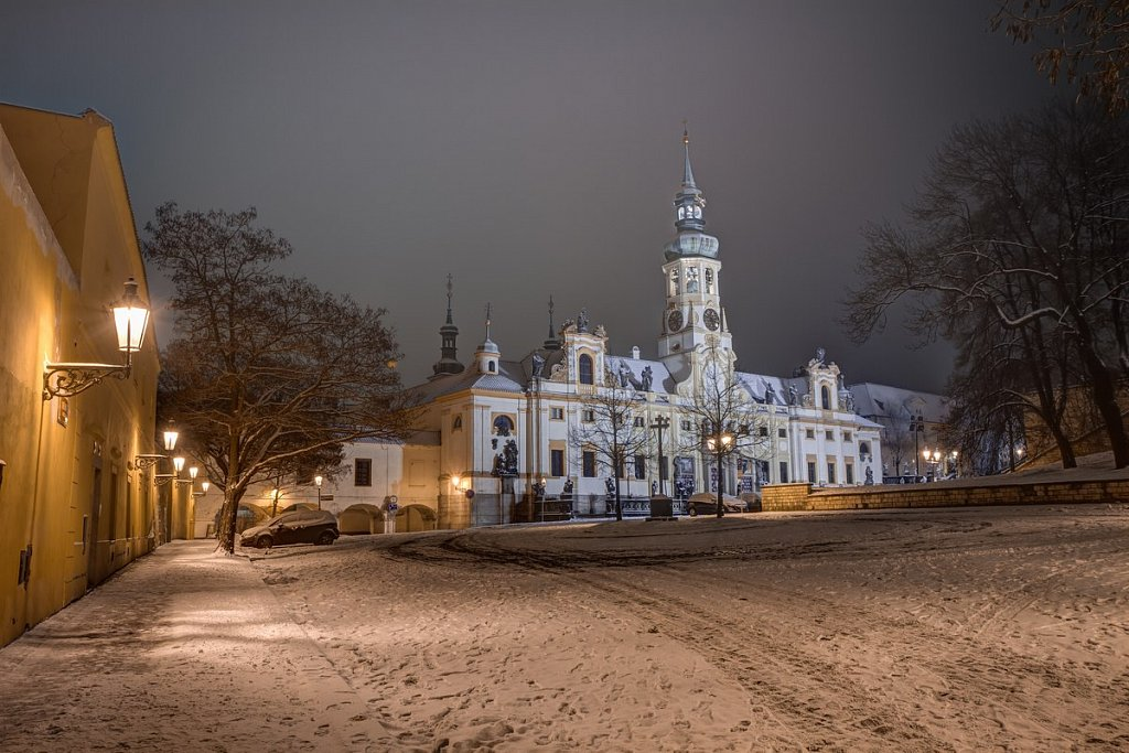 Zimní Pražská Loreta, noční Praha - IMG-6960.jpg
