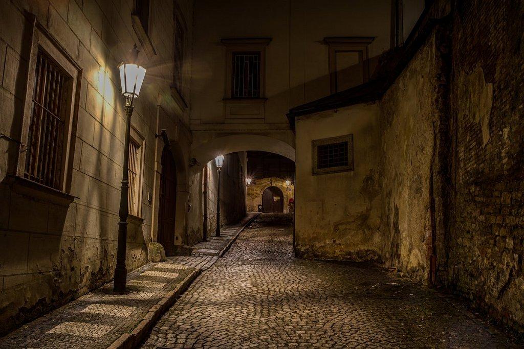 Noční Praha, Thunovská ulice, Pražská zákoutí - IMG-7195.jpg