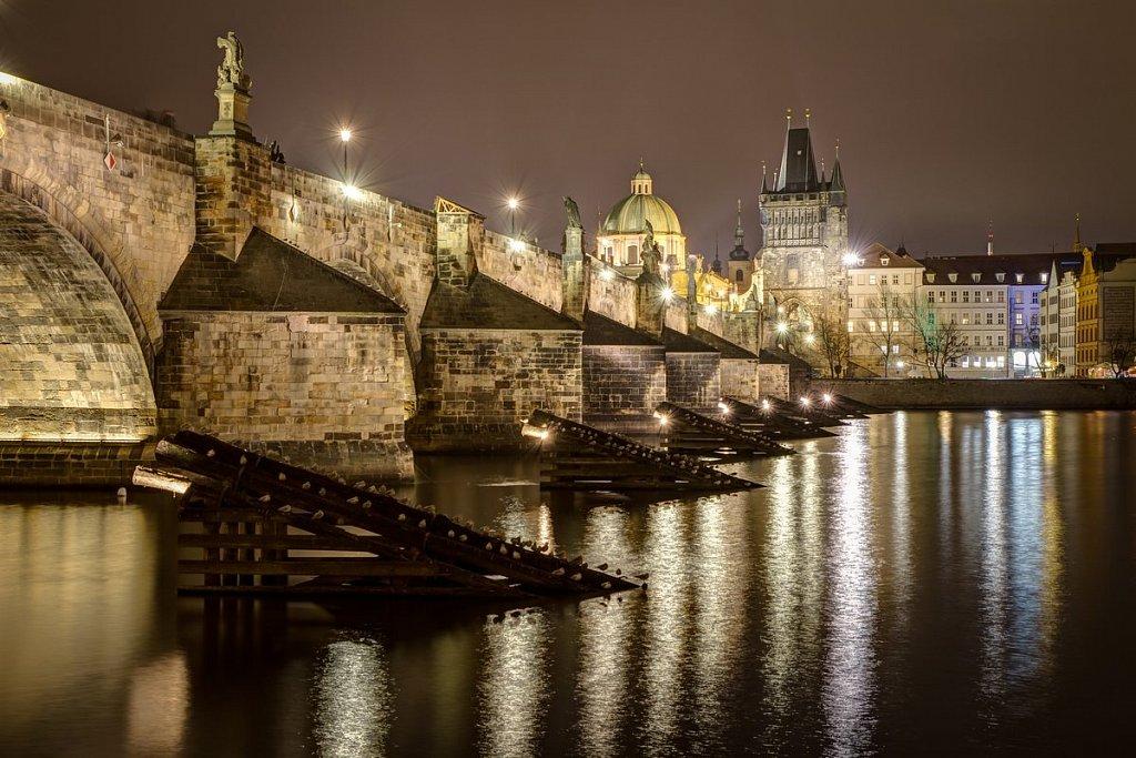 Noční Praha, Karlův most - IMG-6425.jpg