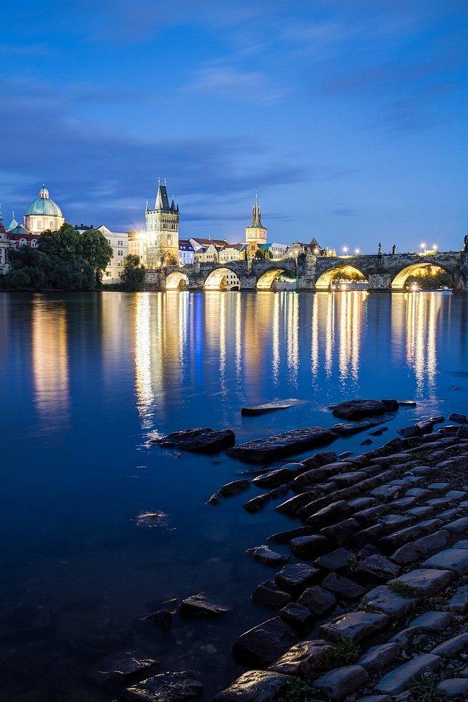 Noční Praha, Karlův most - IMG-5105.jpg
