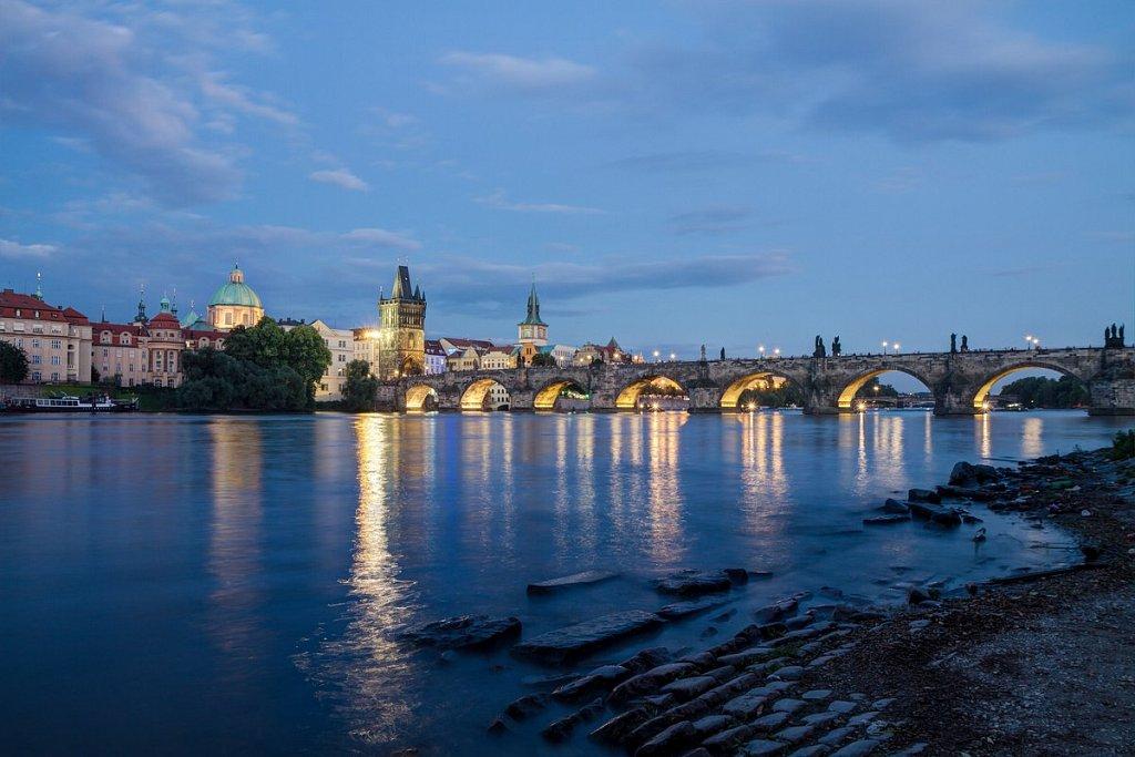 Noční Praha, Karlův most -  IMG-5081.jpg